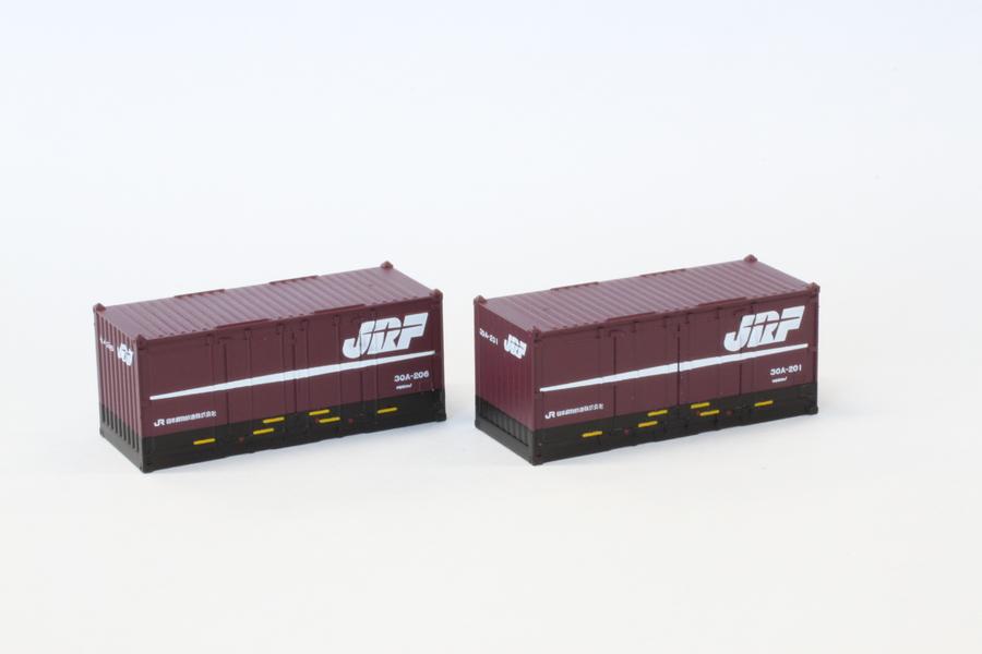 A105-1 JR貨物 30Aコンテナ20ft 紫/黒 2個入り