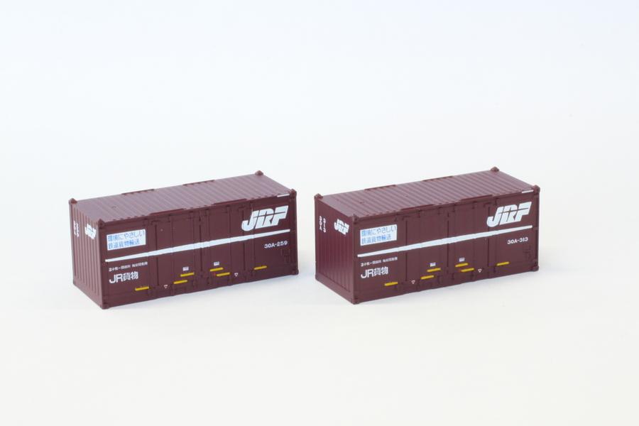 A105-2 JR貨物 30Aコンテナ20ft 紫 2個入り