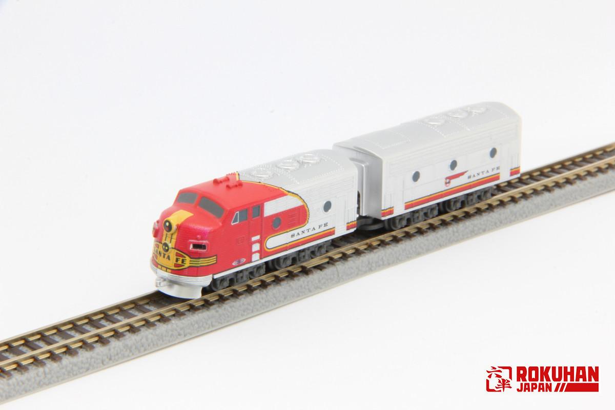 ST012-1 EMD F7 ATSF