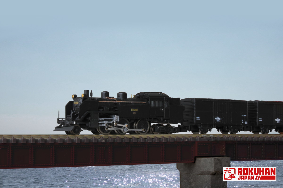 T019-8 国鉄 C11 蒸気機関車 209号機 北海道2灯タイプ
