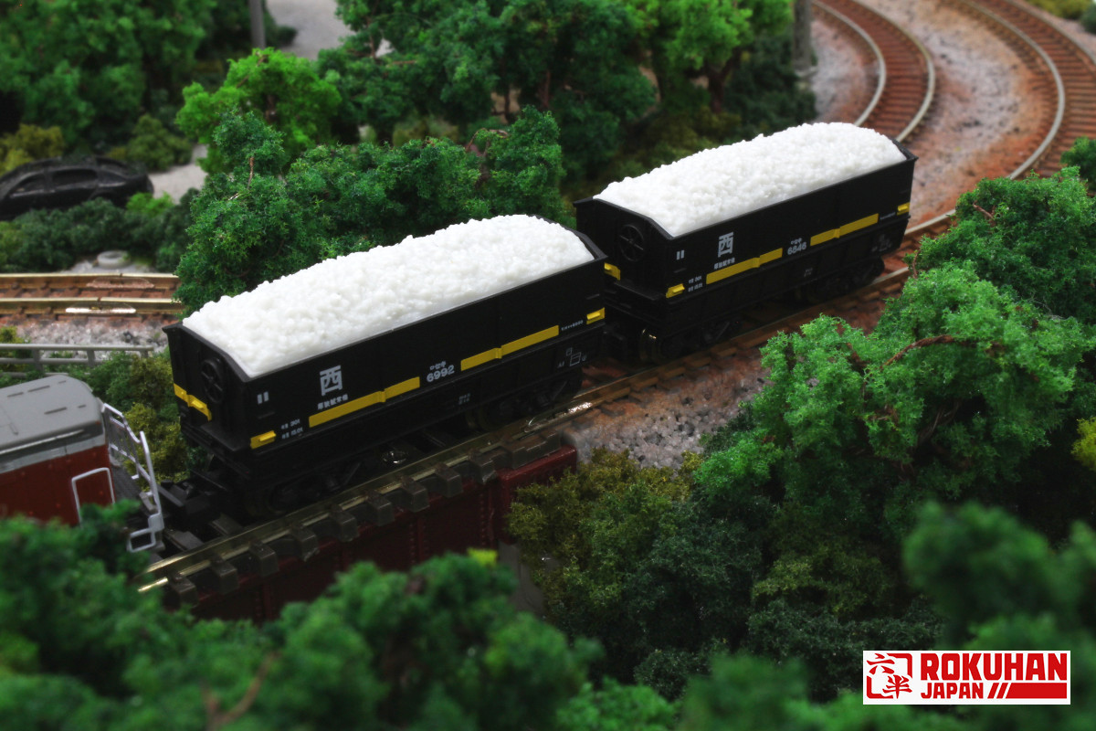 T005-3 セキ6000 2両セット 西